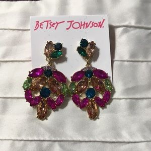 NWT Betsey Johnson Pierced Earrings